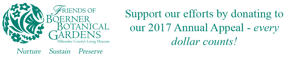 Support our efforts by donating to our 2017 Annual Appeal - every dollar counts!