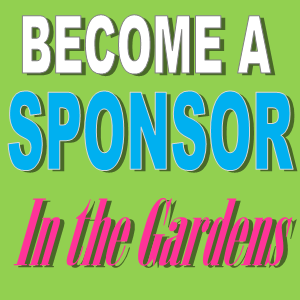 Sponsor our In the Gardens fundraiser on June 12, 2015!