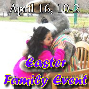 FREE Easter Family Event - Apr. 16, 10-2