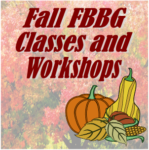 Fall Classes and Workshops