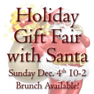 Holiday Gift Fair with Santa
