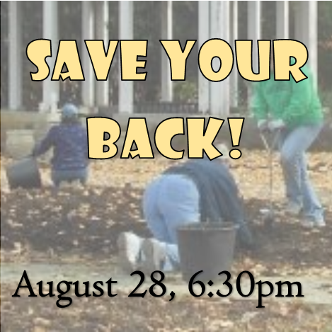 Tips & tricks to help prepare your back and body for fall yard and garden clean up! Get your body ready for the season and prevent injury, pain, and stiffness.