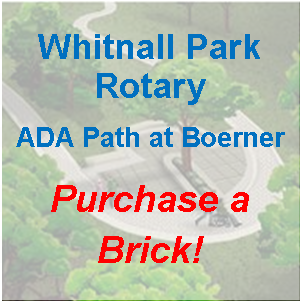 Purchase a Brick for the WPR ADA Pathway Today!