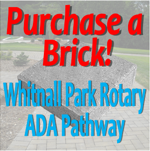 Purchase a commemorative brick on the WPR's ADA Pathway at Boerner!