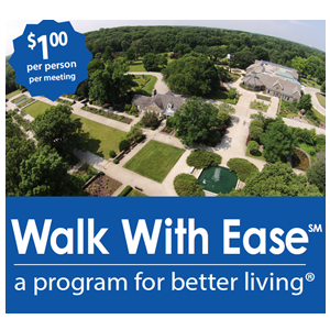 Walk With Ease at Boerner Botanical Gardens!