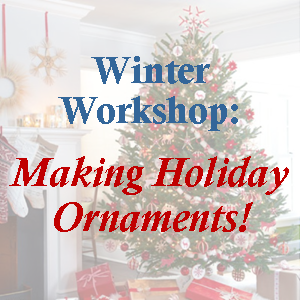 Winter Workshop: Recycled Holiday Card Ornaments