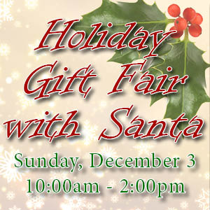 Holiday Gift Fair with Santa