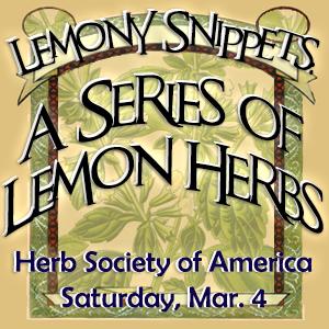 Herb Society of Wisconsin Lemon Herbs Symposium