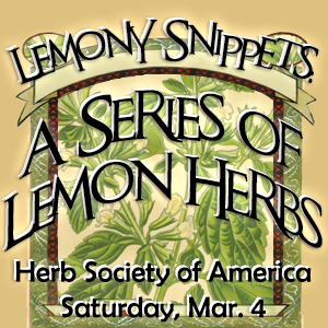 lemony herbs