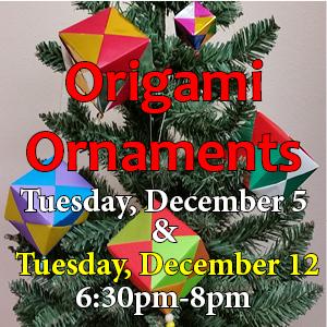 origami ornaments web icon