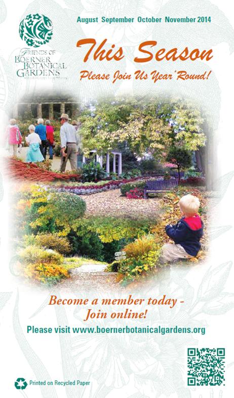 Friends Of Boerner Botanical Gardens Newsletter