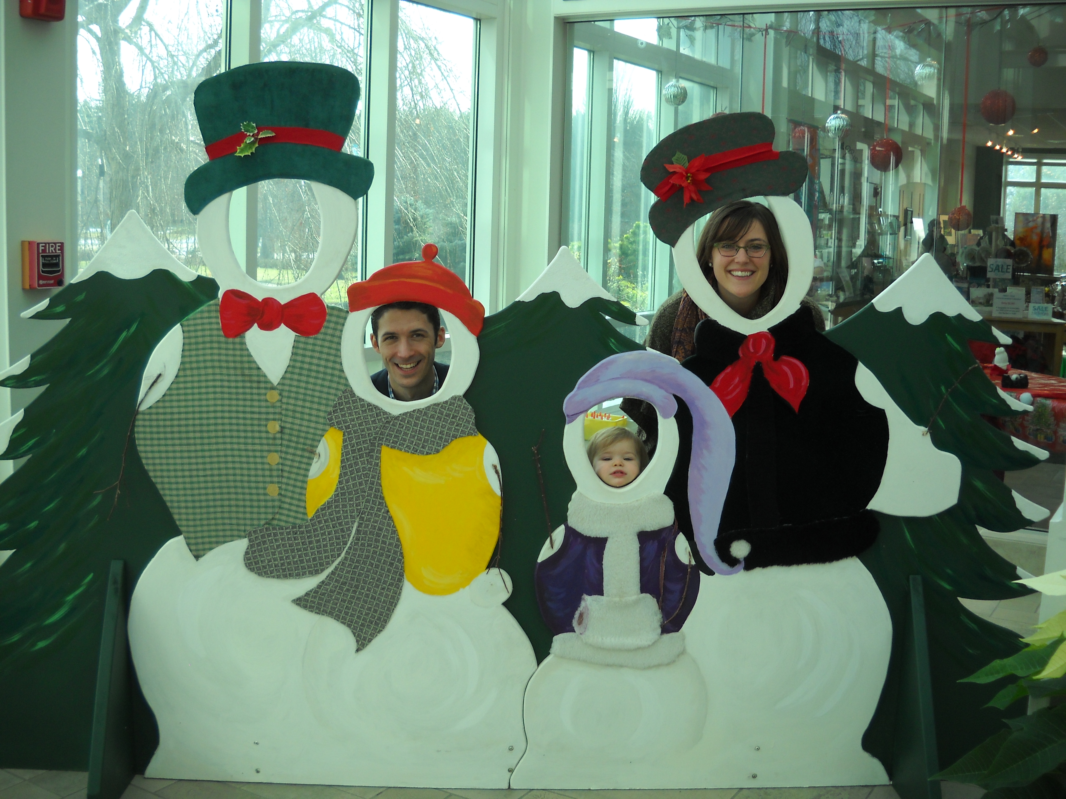 Snowmen cutouts