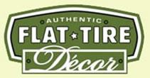 Flat Tire Decor