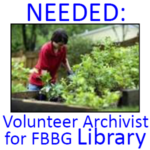 Library archivist volunteers web icon a