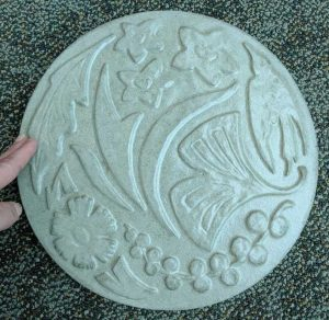 BBG Logo stepping stone from STONECrete