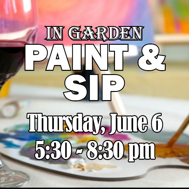 Paint & Sip 2019 web icon - updated rain date