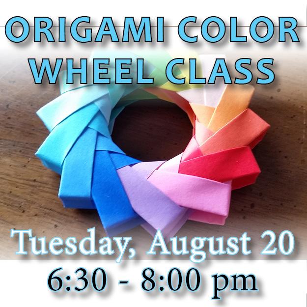 Oigami Color Wheel Class web icon