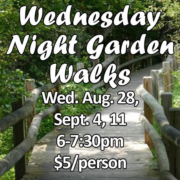 Wed Night Walks updated dates web icon