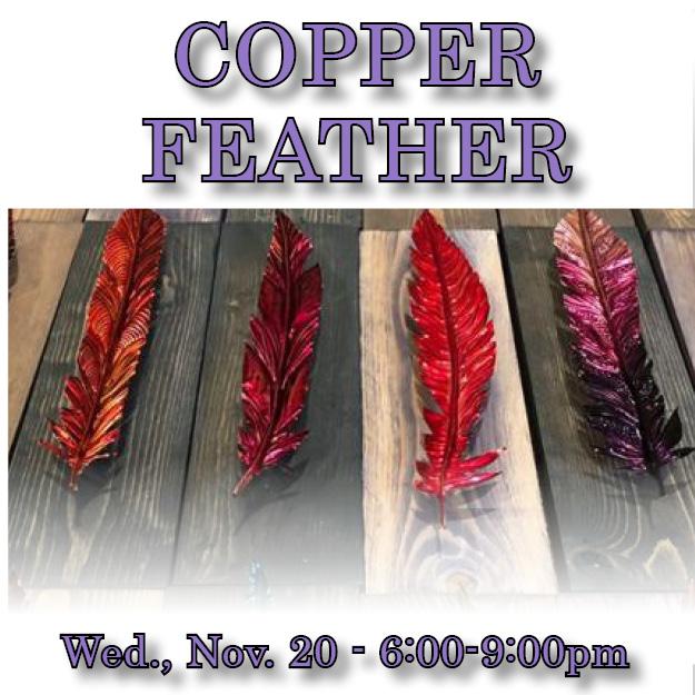 Copper Feather Web icon