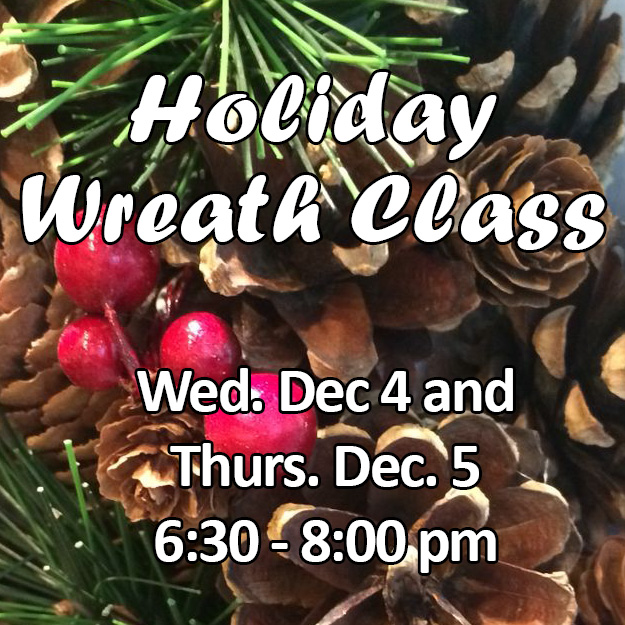 Holiday Wreath Class Web Icon