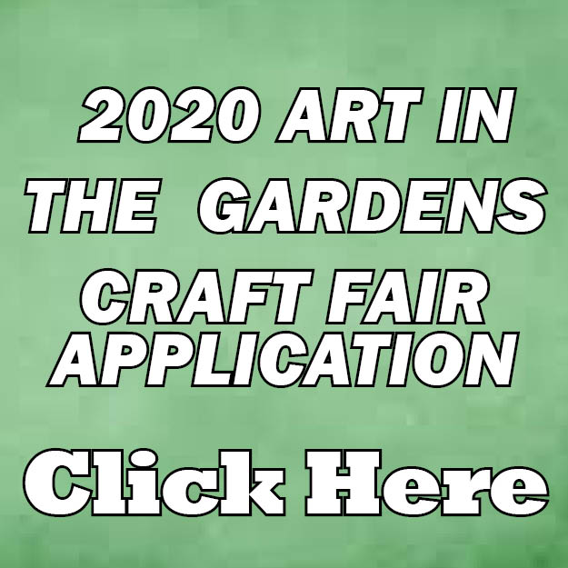 2020 Art In the Gardens Application web icon