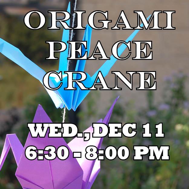 Origami Peace Crane Web Icon