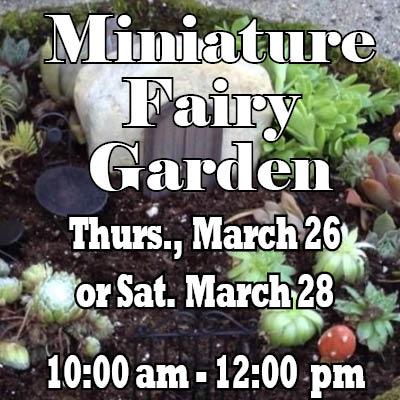 Miniature Fairy Garden Web Icon